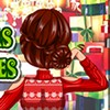 Play the 'Special Christmas Hairstyles' game and help cute Lina decide on the c