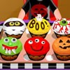 Spooky cupcakes serve as a tasty recipe for Halloween Day. These cupcakes are loaded with cranberries flavor and garnished in a way to give it a spooky look. Play the game to learn yummy and easy recipe of spooky cupcakes. Enjoy cooking!!