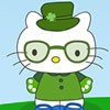 Hello Kitty has to get ready for the St. Patrick's Day Celebration. She wants t