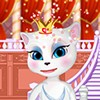 After Talking Tom became king, his wife Angela Talking, are to be crowned as qu