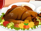 Prepare a beautiful Thanksgiving dinner for you and your new boyfriend. Using f