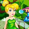 Tinkerbell bumped into a branch when she was pl...