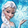 This is a different makeover game . Elsa was under a spell and she got old and