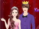 King and Queen Love: How do you feel if being a couple with famous and handsome