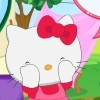 Hello Kitty has a great new idea for a fun activity with her friends. She called three of them for a fun day playing a great game, which I am sure you will adore. This game is called Hide and Seek and it's one of her favorite games to play, because she can spend time with her friends. There are many hiding places she wants to try and see if you can find her. The first place where they will play is the garden and there are so many places to hide here and it will be a great challenge to find her or the other friends.