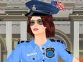 Dress up this police girl with a cool police ou...