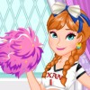 Frozen Princess Anna decided to be a cheerleader. Play our latest frozen hair g