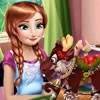 Princess Anna is checking pins about handmade c...