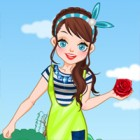 Dress this sweet girl in various Spring outfits...