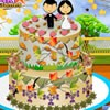 Today this couple is going to marry and they need an autumn themed wedding cake