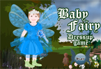 Dress up this little sweet baby fairy and make her more sweeter.