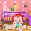 The sweetest baby needs you to decorate his house. Go into the baby's room, the living room or the playroom and start making cute combinations with different furniture and other elements. Have fun making it as colorful and cute as possible and the baby will be happy.