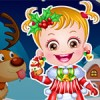 You can dress up Baby Hazel with magnificent christmas clothes and costumes.