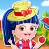 You can dress up baby hazel as a farmer girl by pleying our latest baby hazel d