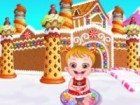 Baby Hazel wants to renovate Gingerbread House. She needs your help to build an