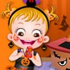 Its Halloween crafts making day in Baby Hazel's...