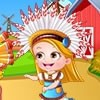 Dress up Baby Hazel for thanksgiving day with cool and funny thanksgiving costu