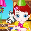 Baby Lulu and her mother sophie are celebrating Baby Lulu's birthday with a nice party. Let's have a nice birthday party with Baby Lulu and her lovely mother Sophie.