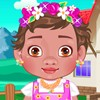 Moana is a very cute little baby. When she grow...
