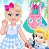 Hi everybody, It's time for you to meet Princess Baby Barbie dolls and her bu
