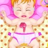 Baby Valentine is sleeping but soon she will wake up and she needs her diaper c