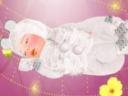 You can dress a cute baby in various outfits and accessories.