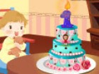 It's baby's first birthday! Mom wants to prepare a cute and yummy birthday cake