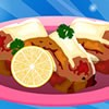 How tasty can be the combination of bacon and shrimp. In this cooking game for
