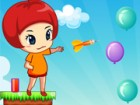 Your objective is to pop all the balloons with Emy in each level. Beware becaus