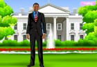 barack obama is the president of the united states. he is running for his secon
