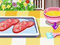 In this new cooking game for girls you will learn how to prepare a delicious me
