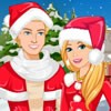 You can decorate barbie and Ken's house for christmas and you can dress up them
