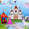use your own imagination and style to create the perfect castle for barbie. she