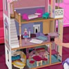 Decorate a doll house for Barbie. She loves dol...