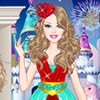Dress up Barbie for her fairytale fashion show in glamorous and elegant princes