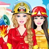Barbie is the new image of the American firefighting department. As her persona