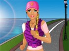 Barbie wants to stay in good shape so she leads a healthy life. One of things s