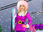 Barbie loves wintertime and winter sports. She will be going skiing today and h