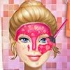 Beautiful girl Barbie needs a make up. in this game you can make up real Barbie with real makeover pruducts. First give Barbie a real facial care. At the end of game you can dress up Barbie with real clothes.