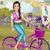 Barbie is calling you for trip to the countryside. Accompany Barbie in her new