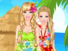 Go with Barbie in Hawaii and have lots of fashion fun dressing Barbie in gorgeo
