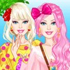 Check out Barbie's oversized tops and learn from the cute doll how to accessori