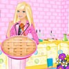Barbie wants to impress her family by cooking a...