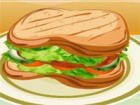 Cook something different today. We offer you a good recipe with a sandwich made