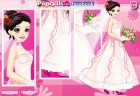 This is a fun wedding dress up game for girls. It's the most important day for