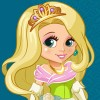 With this princess game you can easily dress up and makeover your princess doll