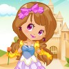Dress up this princess with more than a hundred of outfits, hairstyles and acce