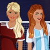 BFF Studio - Soccer Girls game is a dress up game in which you will dress up 3