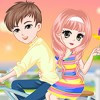 What's the romantic things for the lovers?The cute girl think being together wi