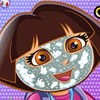 Dora the explorer is in a happy mood. Can you guess why? It is her birthday! An